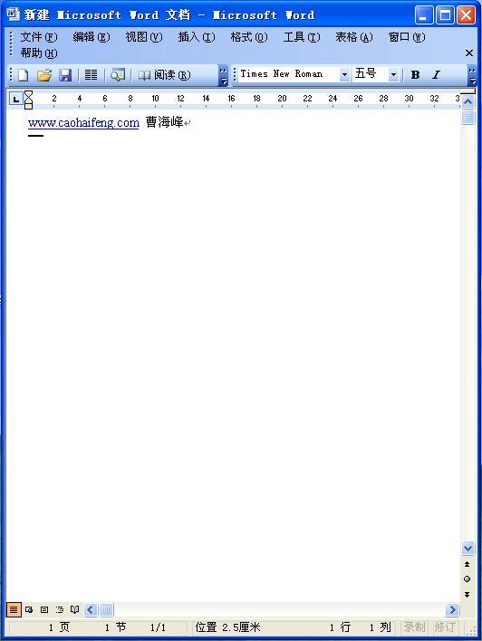 Word 2003新增功能:更多新功能