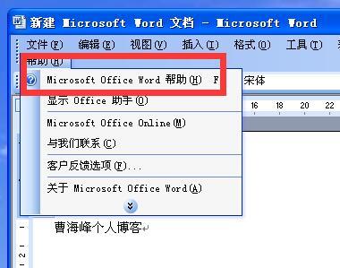 Microsoft Office Word无法显示Office助手,这项功能目前尚未安装